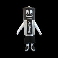 custom made mascot energizer battery hola mascot 1