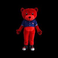 hola mascot tune bear denim 2