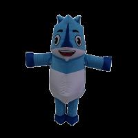 mascot malaysia inflatable with fur hola mascot origami rhino 4