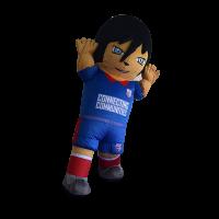 inflatable mascot malaysia soccer boy hola mascot 5