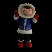 mascot malaysia supplier dreamworld eskimo boy hola mascot 1