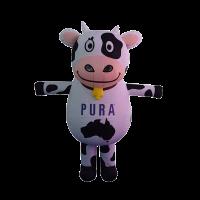 mascot costume malaysia pura cow hola mascot 1