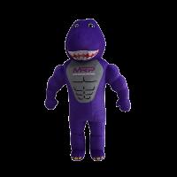 mascot malaysia inflatable with fur hola mascot mrp purple dinasour 1