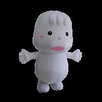 mascot malaysia inflatable with fur mamy poko 1