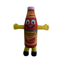 custom made mascot rental malaysia kimball soso cili Hola mascot 1