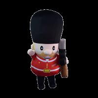 custom made maskot london guard hola mascot 2
