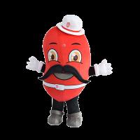 custom made mascot rental malaysia kidney man Hola mascot 1