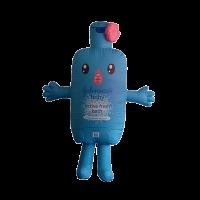 inflatable mascot rental malaysia johnson baby Hola mascot 1
