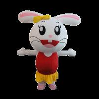 mascot costume company malaysia darlie rabbit hola mascot 5