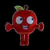 custom made mascot malaysia dumex apple hola mascot 1