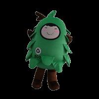 custom made mascot malaysia eco big tree hola mascot 5