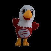 custom mascot malaysia eagle eye hola mascot 5