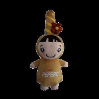 custom mascot pepero lotte girl hola mascot 1
