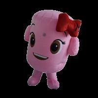 custom mascot malaysia corniche marshmallow hola mascot 5