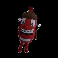 custom mascot malaysia betadine hola mascot 5