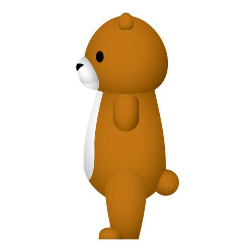 Hola mascot_Bear_side