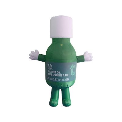 custom mascot malaysia body shop hola mascot 11