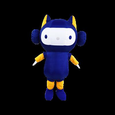 custom mascot malaysia amtrustmobile hola mascot 4