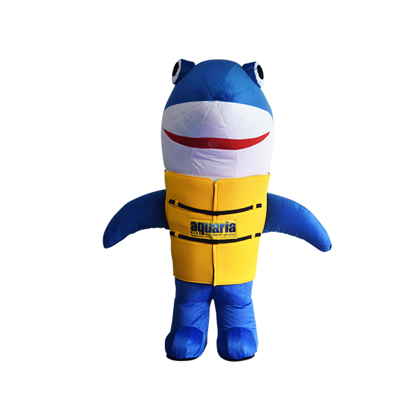 mascot malaysia aquaria klcc shark hola mascot 4
