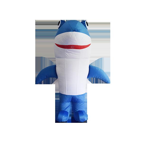mascot malaysia aquaria klcc shark hola mascot 5