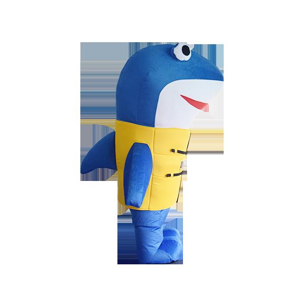 mascot malaysia aquaria klcc shark hola mascot 3