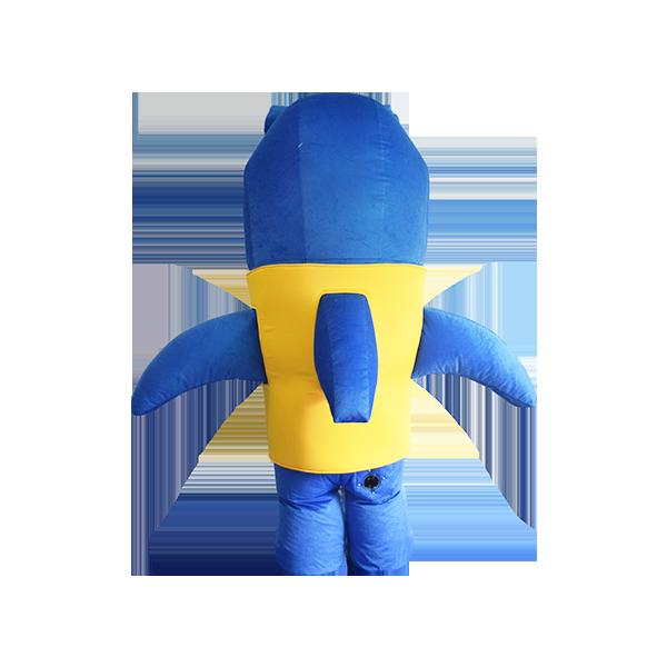 mascot malaysia aquaria klcc shark hola mascot 1