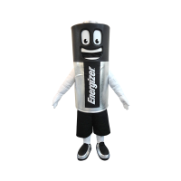 custom made mascot energizer battery hola mascot 1