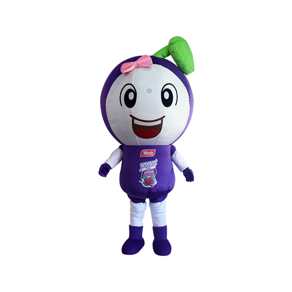 custom mascot malaysia yeos grape 6