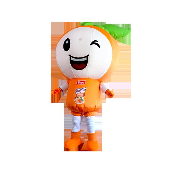 custom mascot malaysia yeos orange 3