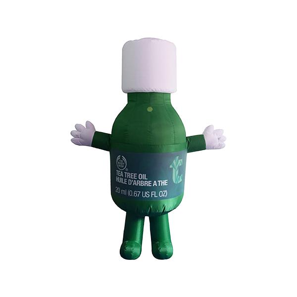 custom mascot malaysia body shop hola mascot 3