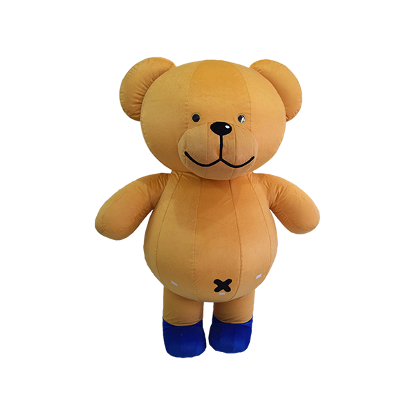 mascot malaysia buncit bear 7-11 shirt hola mascot 7