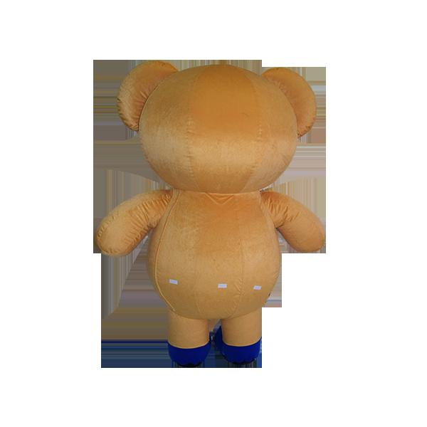 mascot malaysia buncit bear 7-11 shirt hola mascot 4