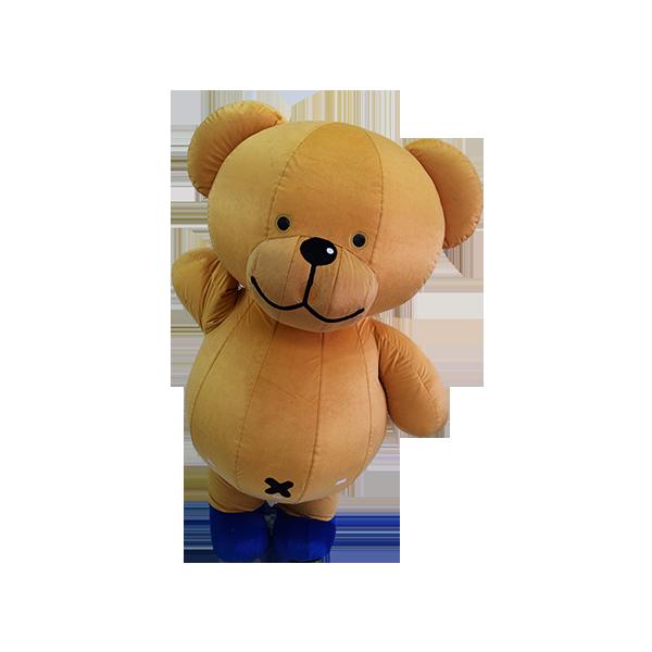 mascot malaysia buncit bear 7-11 shirt hola mascot 3