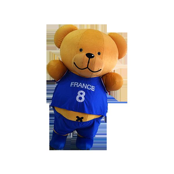 mascot malaysia buncit bear 7-11 shirt hola mascot 1