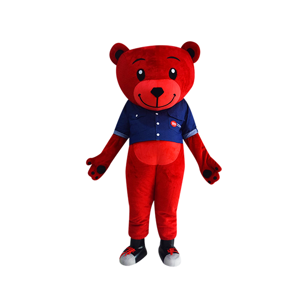 hola mascot tune bear denim 2