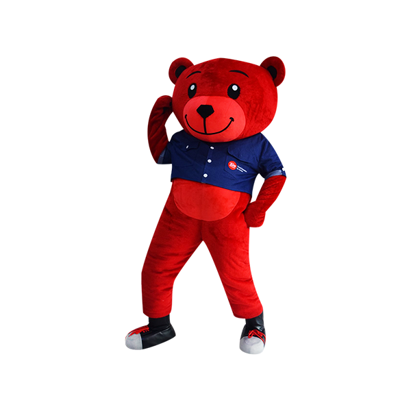 hola mascot tune bear denim 3