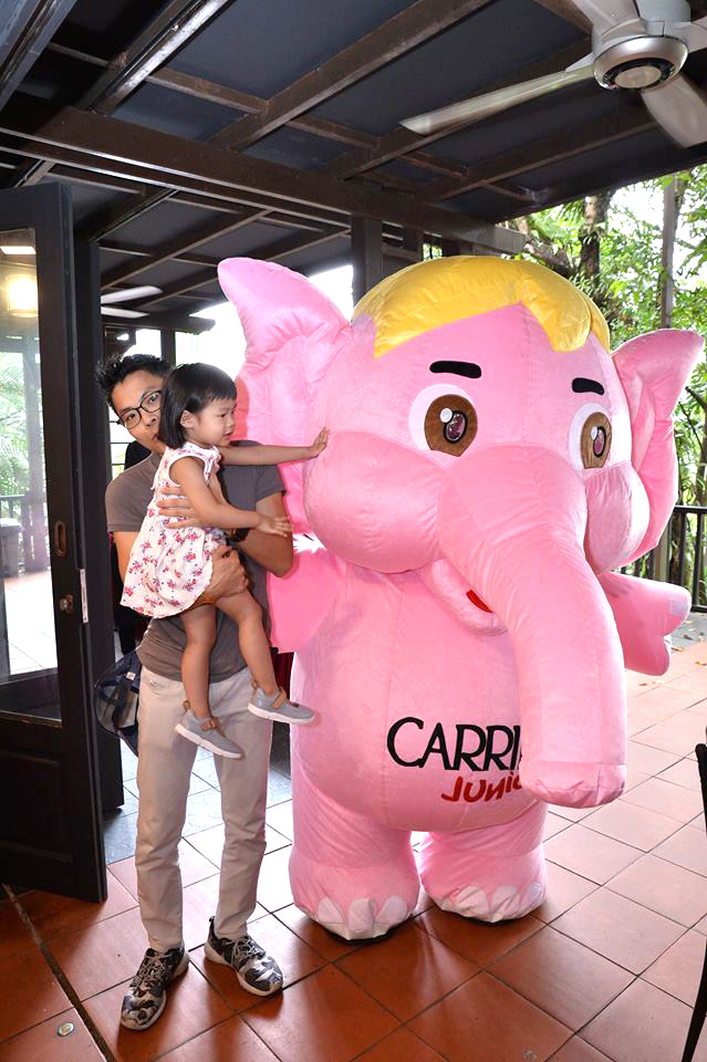 custom made mascot carrie junior mascot event 1