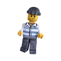 mascot supplier malaysia lego crook minifigure hola mascot 3