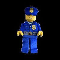 mascot supplier malaysia lego police minifigure hola mascot 4