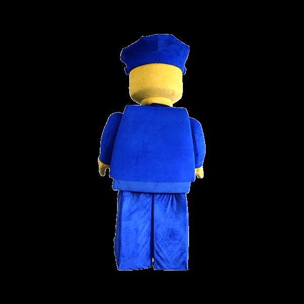 mascot supplier malaysia lego police minifigure hola mascot 2