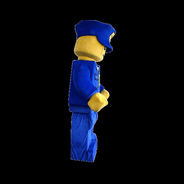 mascot supplier malaysia lego police minifigure hola mascot 1