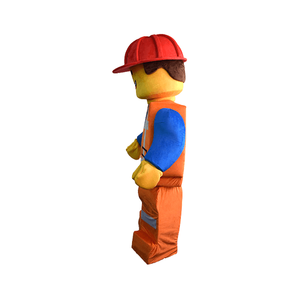 mascot malaysia lego construction worker hola mascot 1