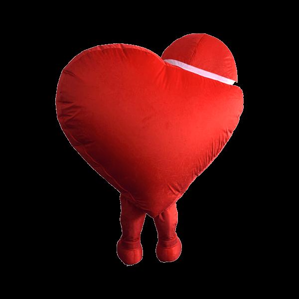 mascot supplier malaysia omega heart boy 4