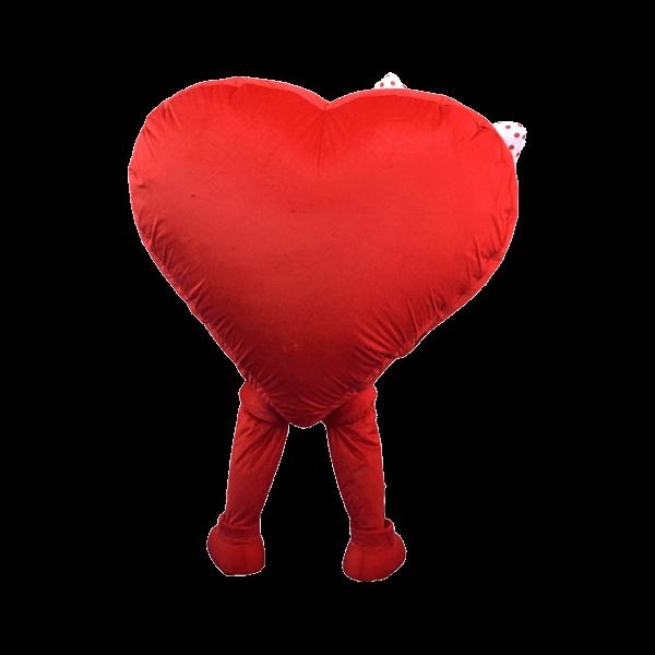 mascot supplier malaysia omega heart girl 4