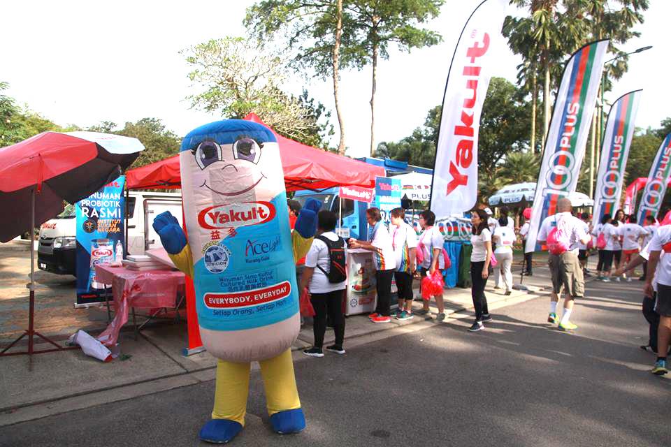 mascot malaysia supplier hola mascot client yakult