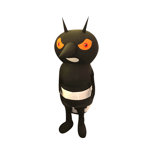 mascot malaysia dungue mosquito hola mascot 1