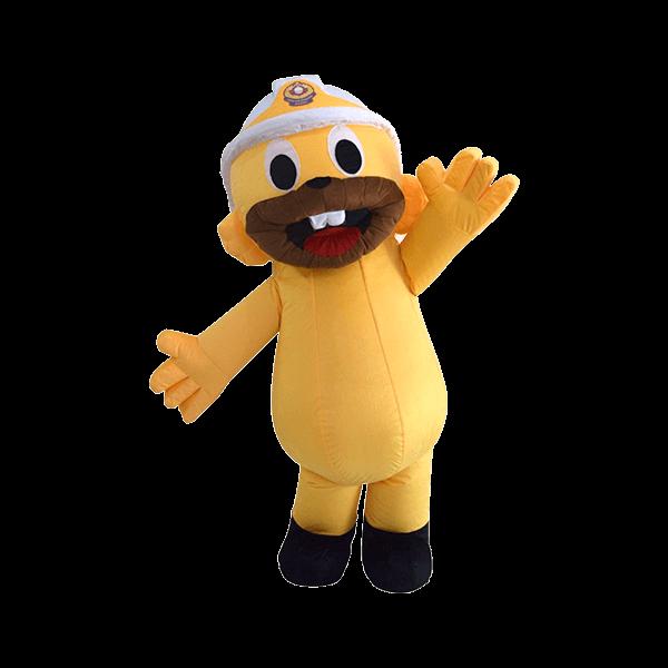 mascot malaysia edie squirel bomba hola mascot 5