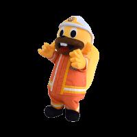 mascot malaysia edie squirel bomba hola mascot 1