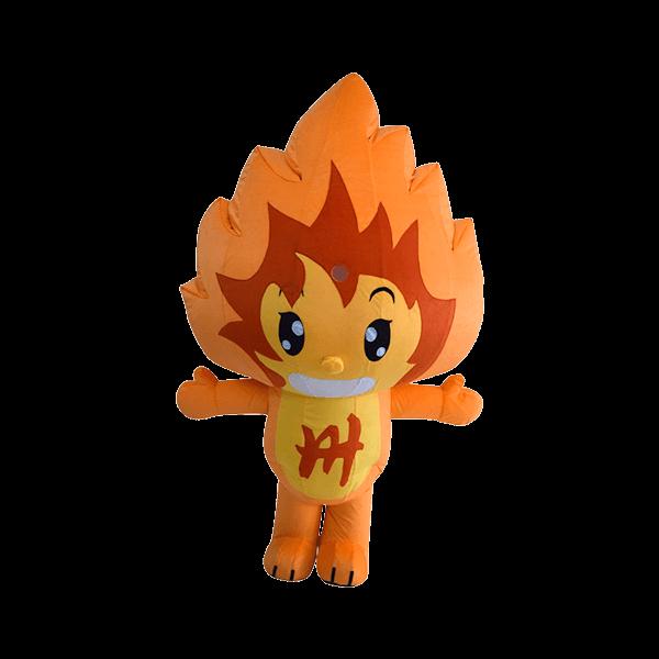 mascot malaysia fire lion hola mascot 1
