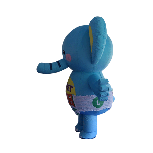 custom mascot supplier malaysia petpet soft elephant disposable 2